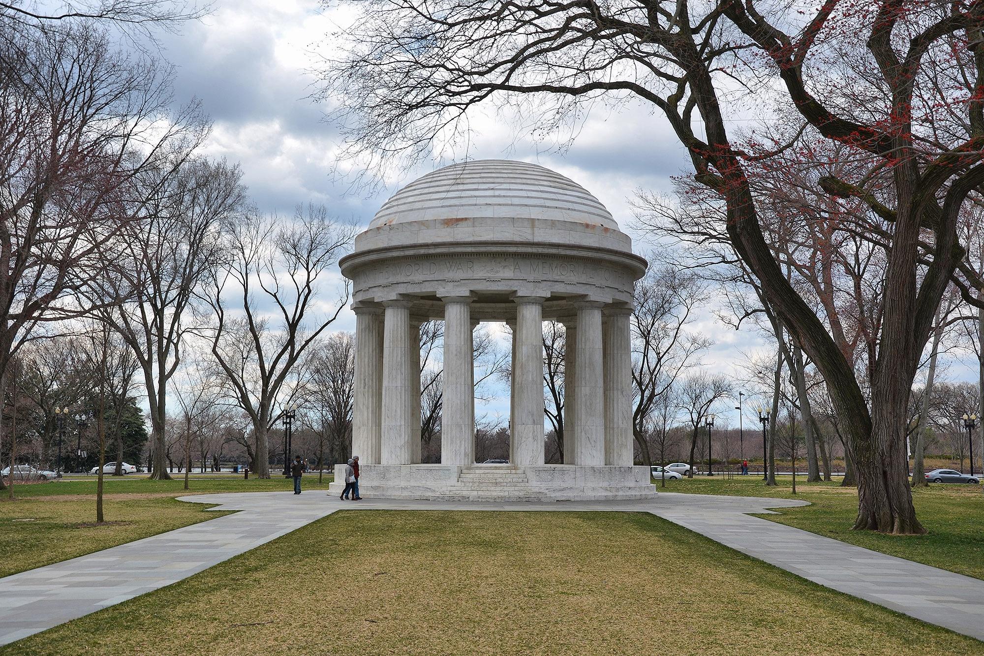 District of Columbia World War I Memorial, Washington, USA