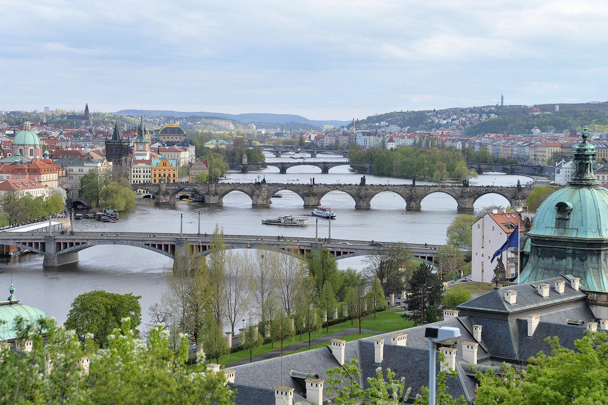 Смотровая площадка у Ганавского павильона, Прага, Чехия