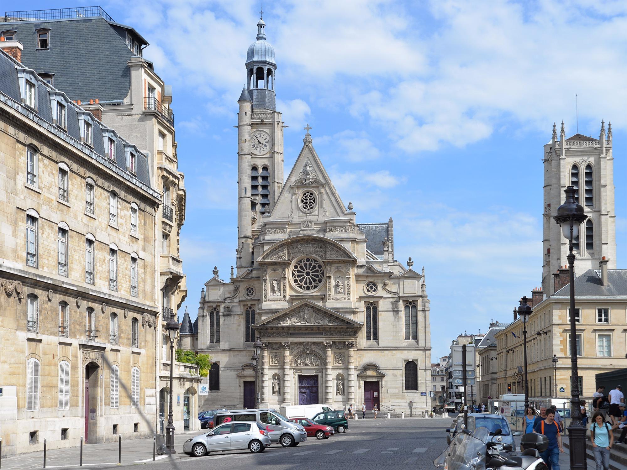 Церковь Сент-Этьен-дю-Мон, Париж, Франция