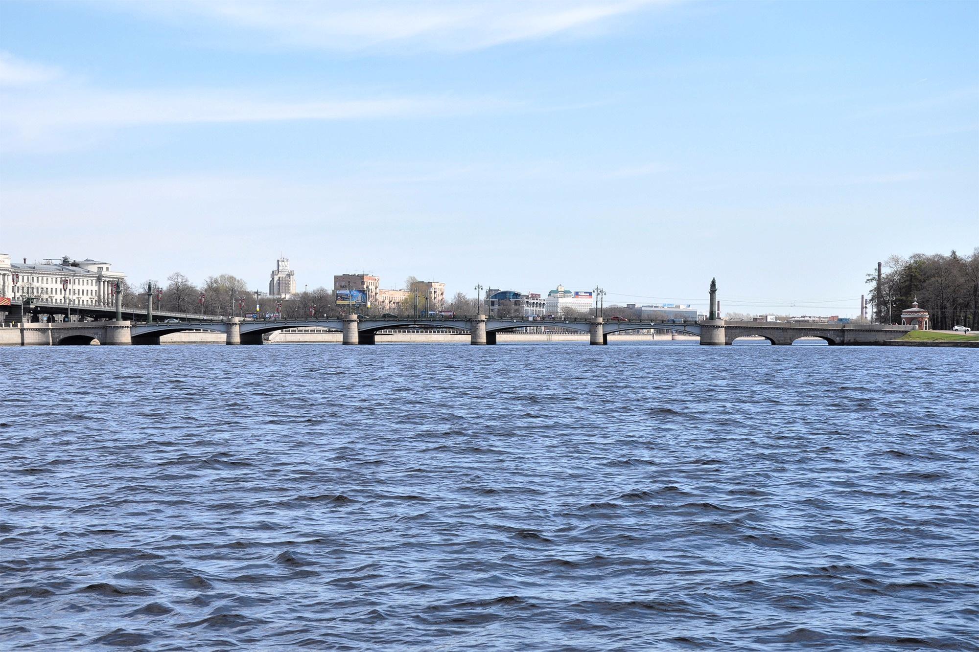 Ушаковский мост, Санкт-Петербург, Россия