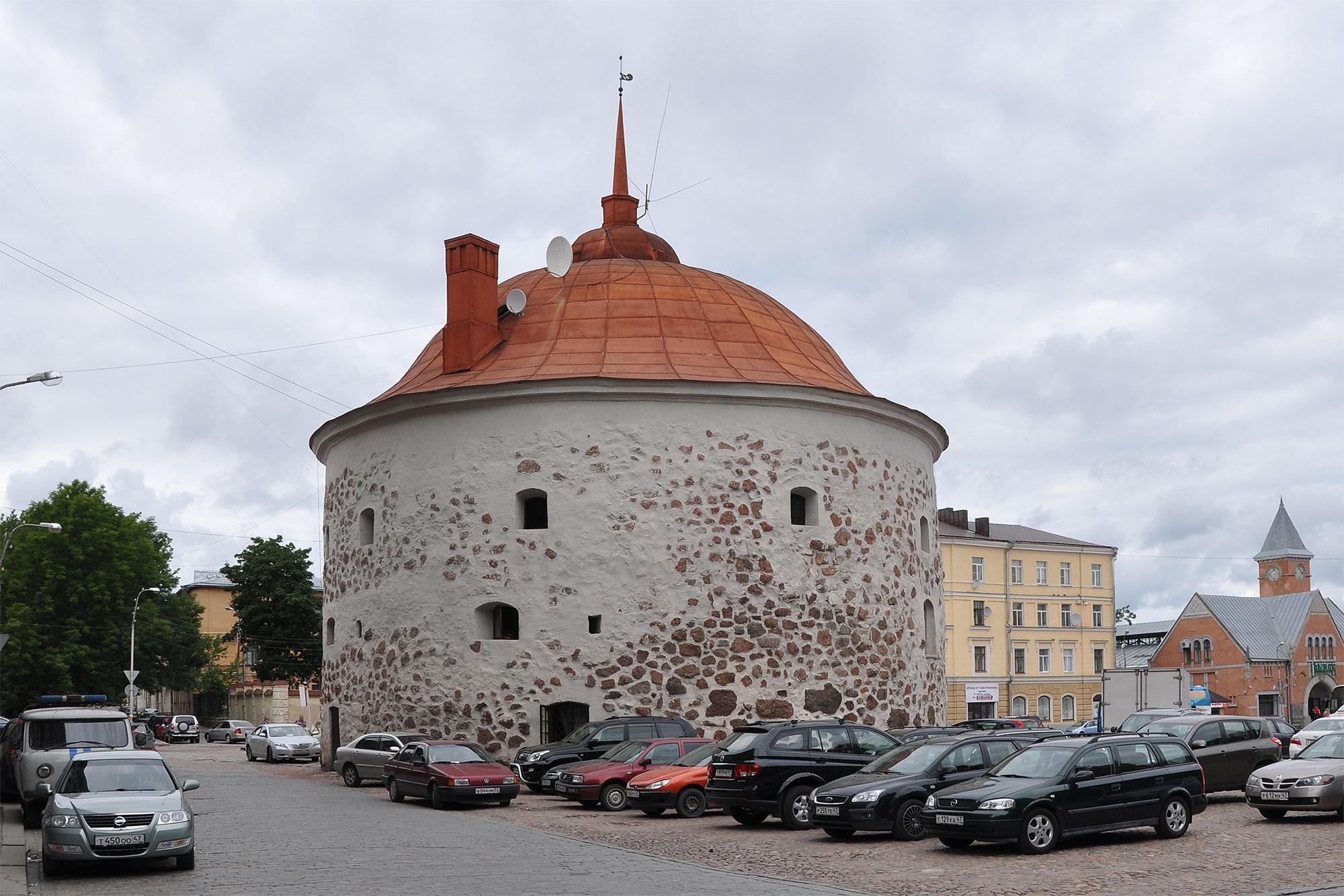 Круглая Башня в Выборге, Выборг, Россия