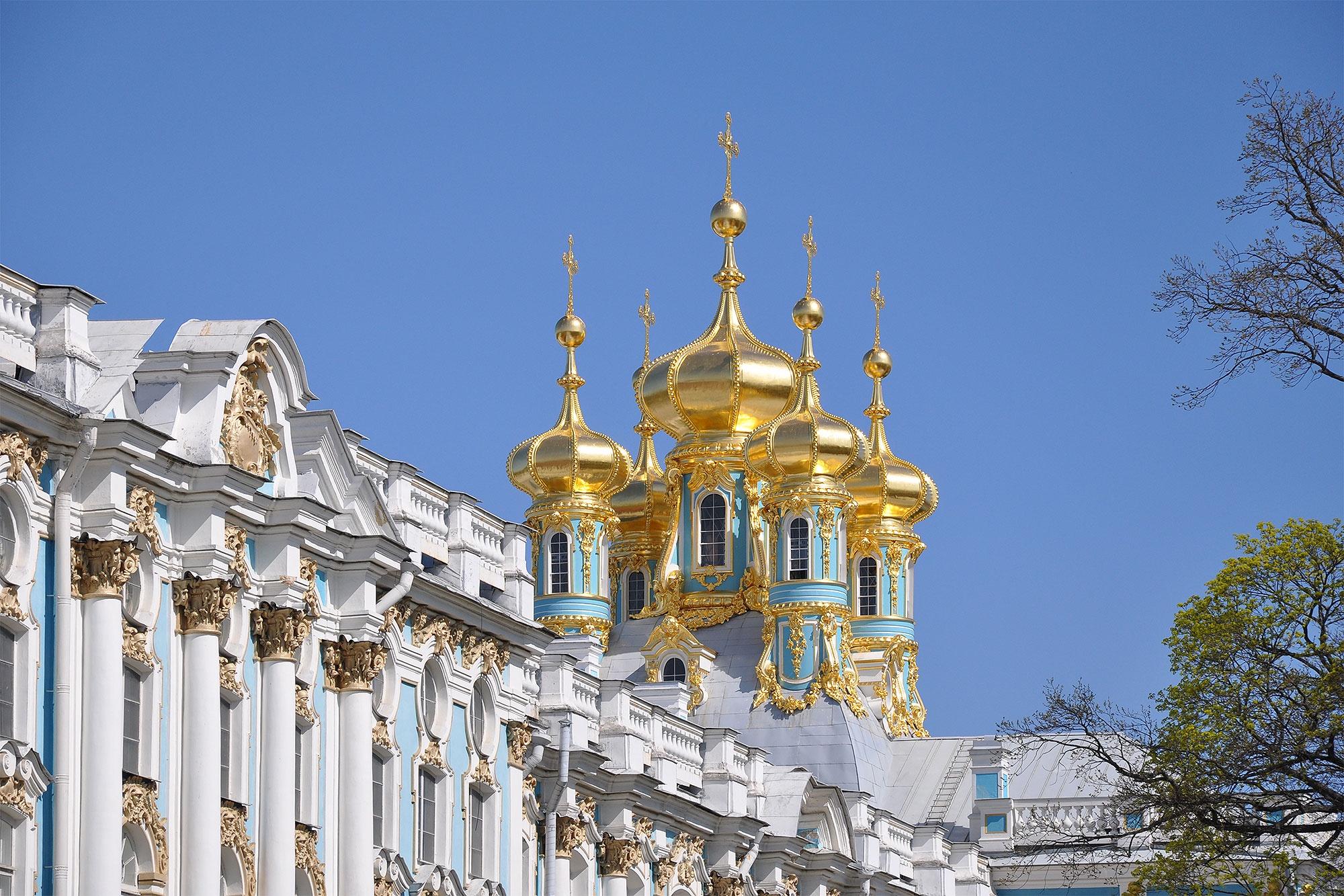 Церковь Воскресения Христова в Екатерининском дворце, Пушкин, Россия