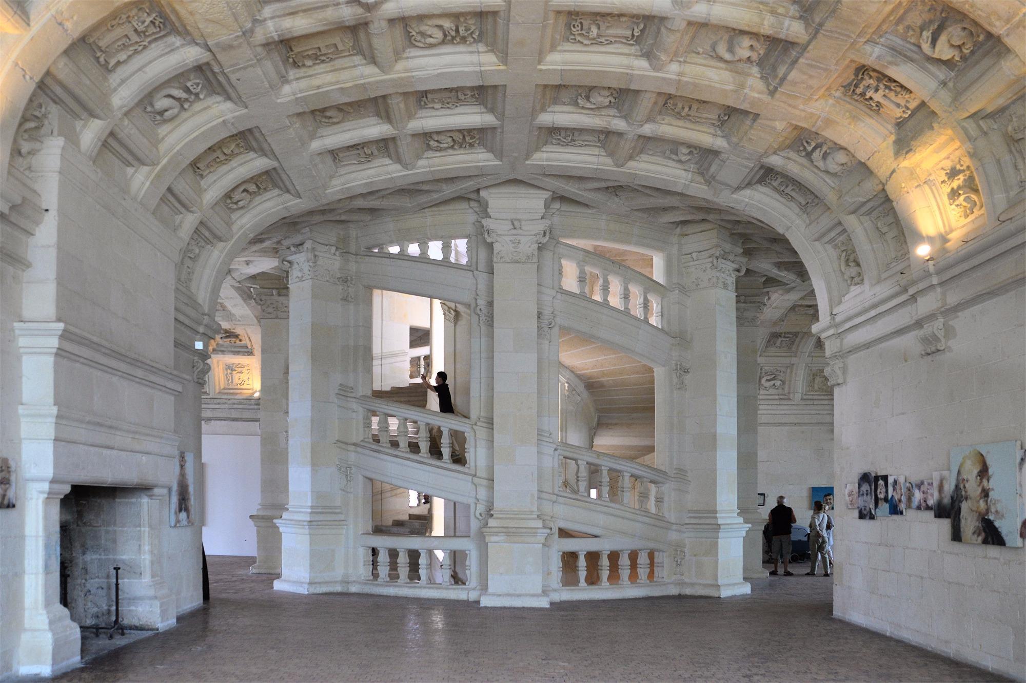 Замок Шамбор, Шамбор, Франция