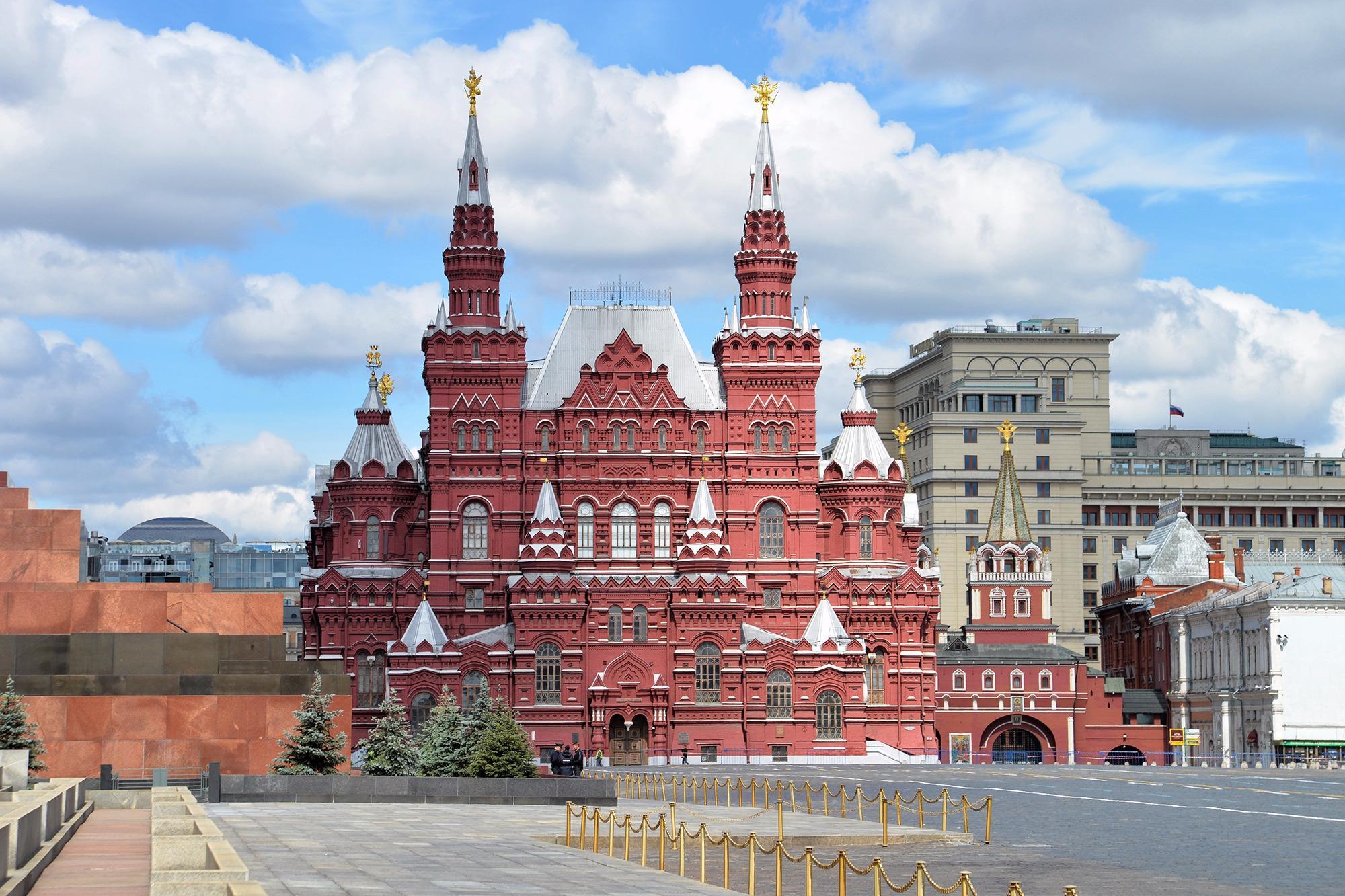Государственный Исторический музей, Москва, Россия