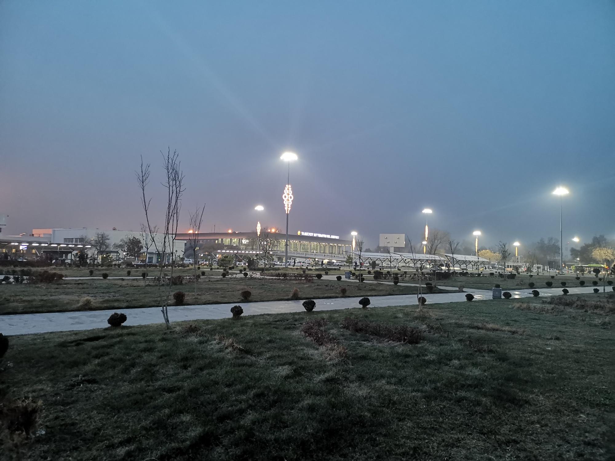 Аэропорт «Ташкент» имени Ислама Каримова, Ташкент, Узбекистан