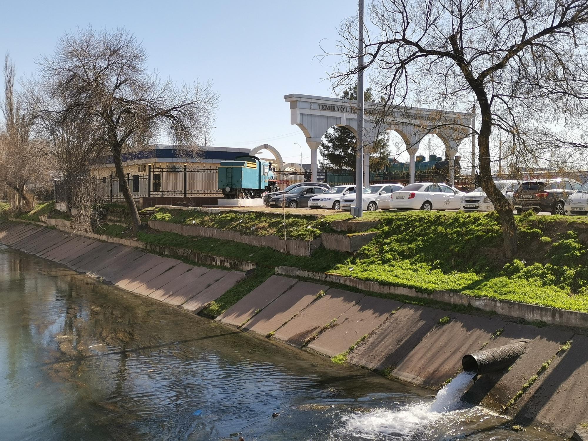 Ташкентский музей железнодорожной техники, Ташкент, Узбекистан