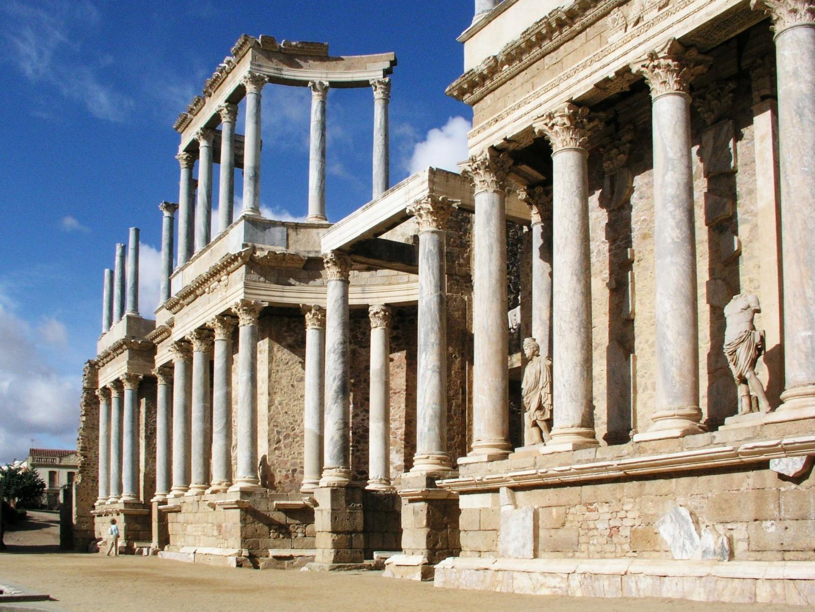Римский театр в Мериде, Мерида, Испания
