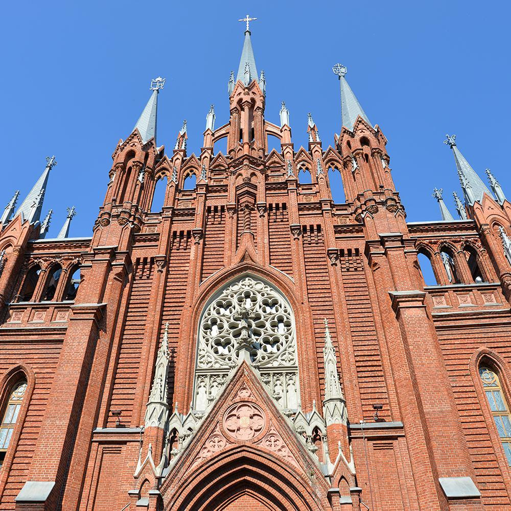 Cathedral of the Immaculate Conception of the Blessed Virgin Mary, Moscow, Russia