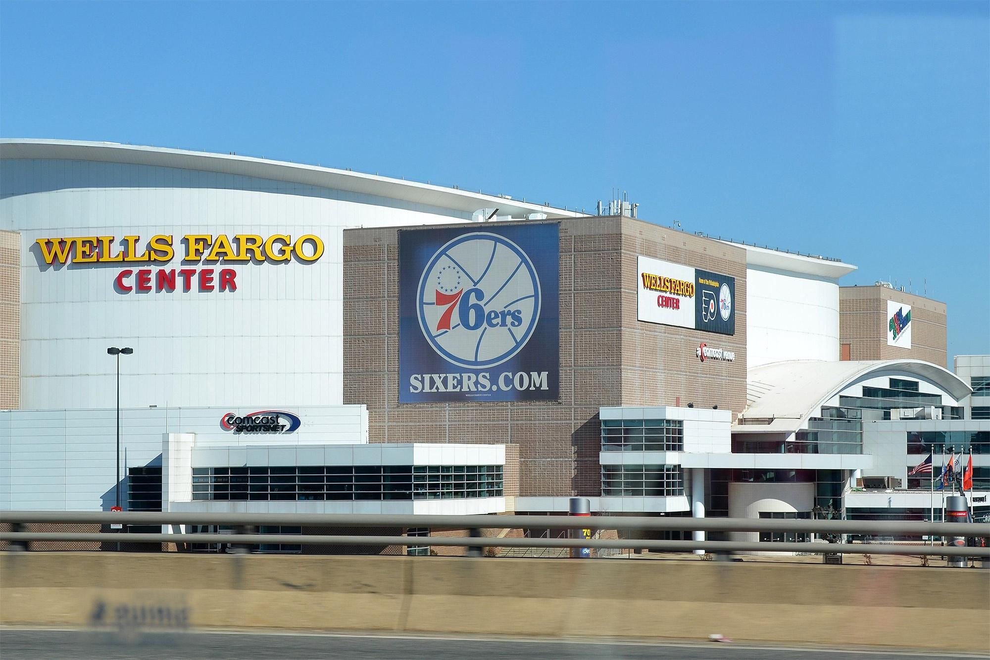 Wells Fargo Center, Philadelphia, USA