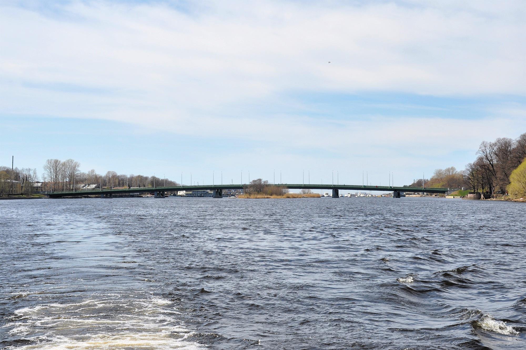 Большой Петровский мост, Санкт-Петербург, Россия