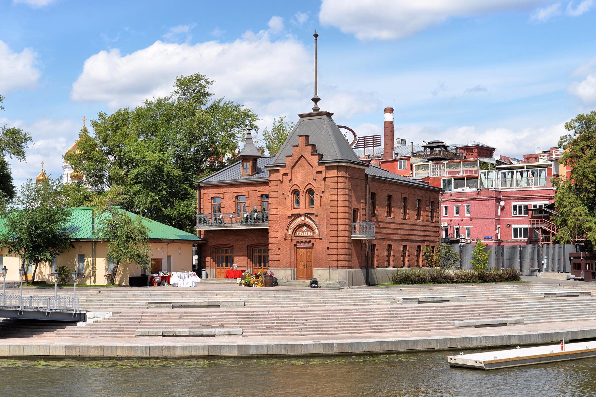 императорский яхт клуб москва официальный