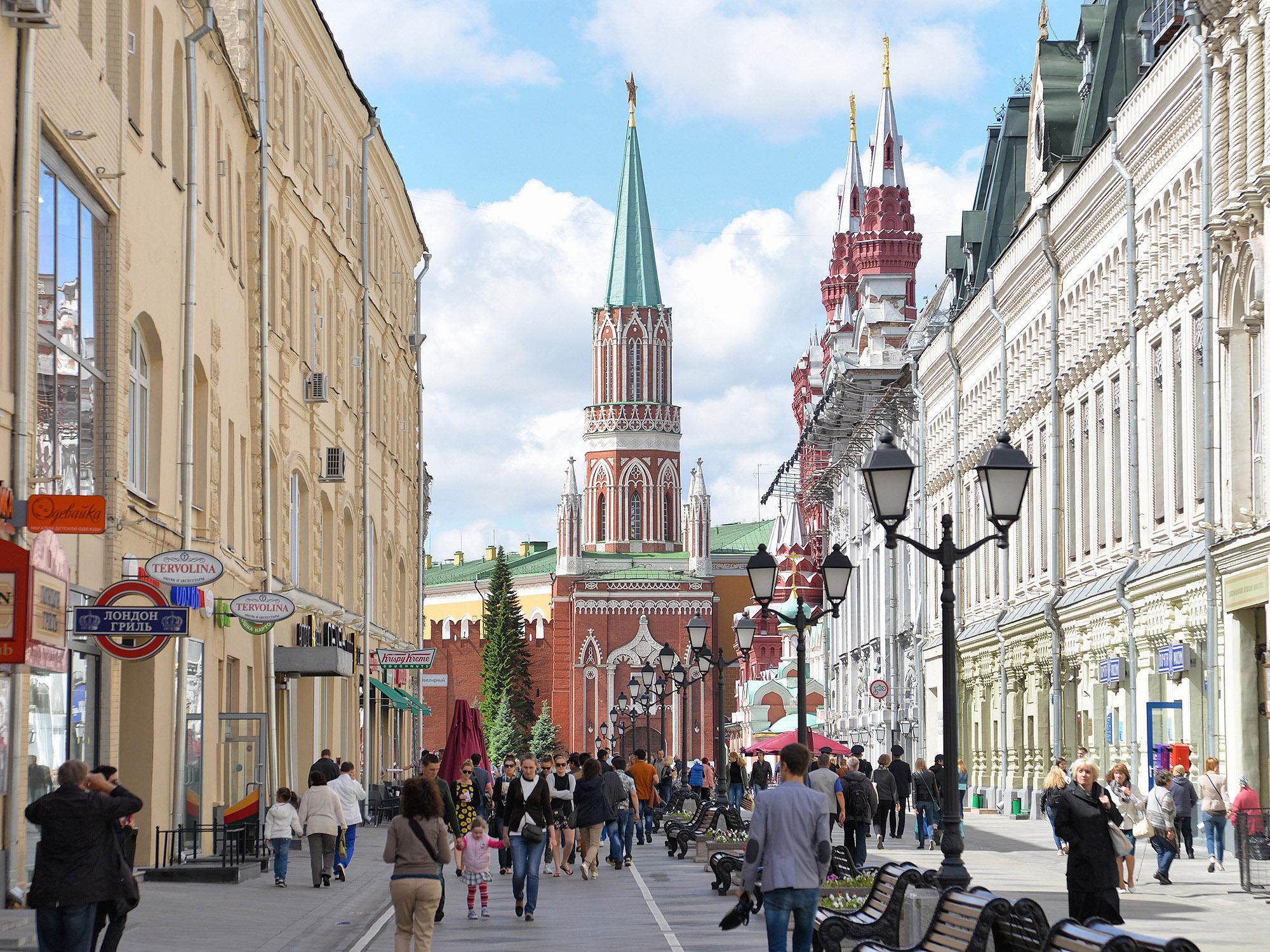 Никольская башня, Москва, Россия
