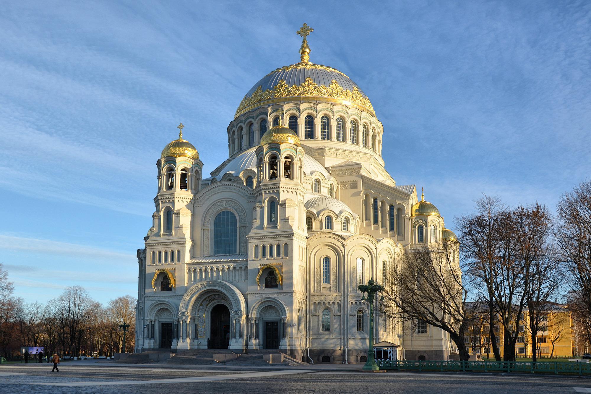 Saint Nicholas Naval Cathedral in Kronstadt, Kronstadt, Russia