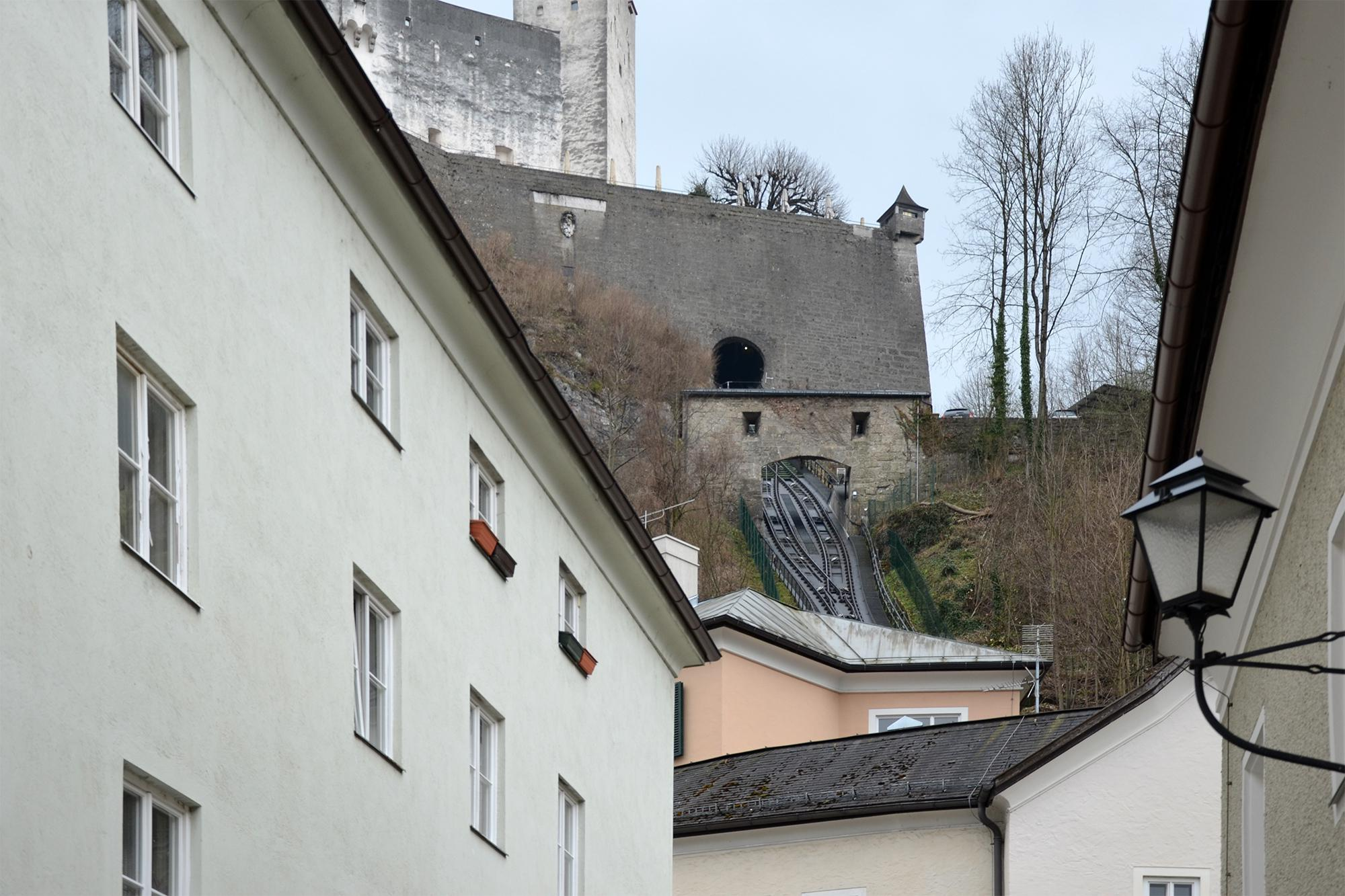Festungsbahn Funicular, Salzburg, Austria