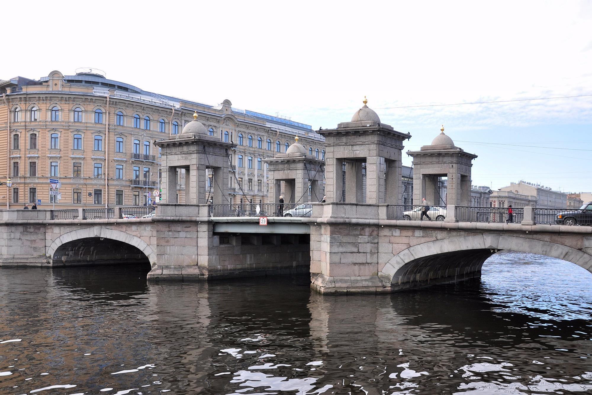 Мост Ломоносова, Санкт-Петербург, Россия