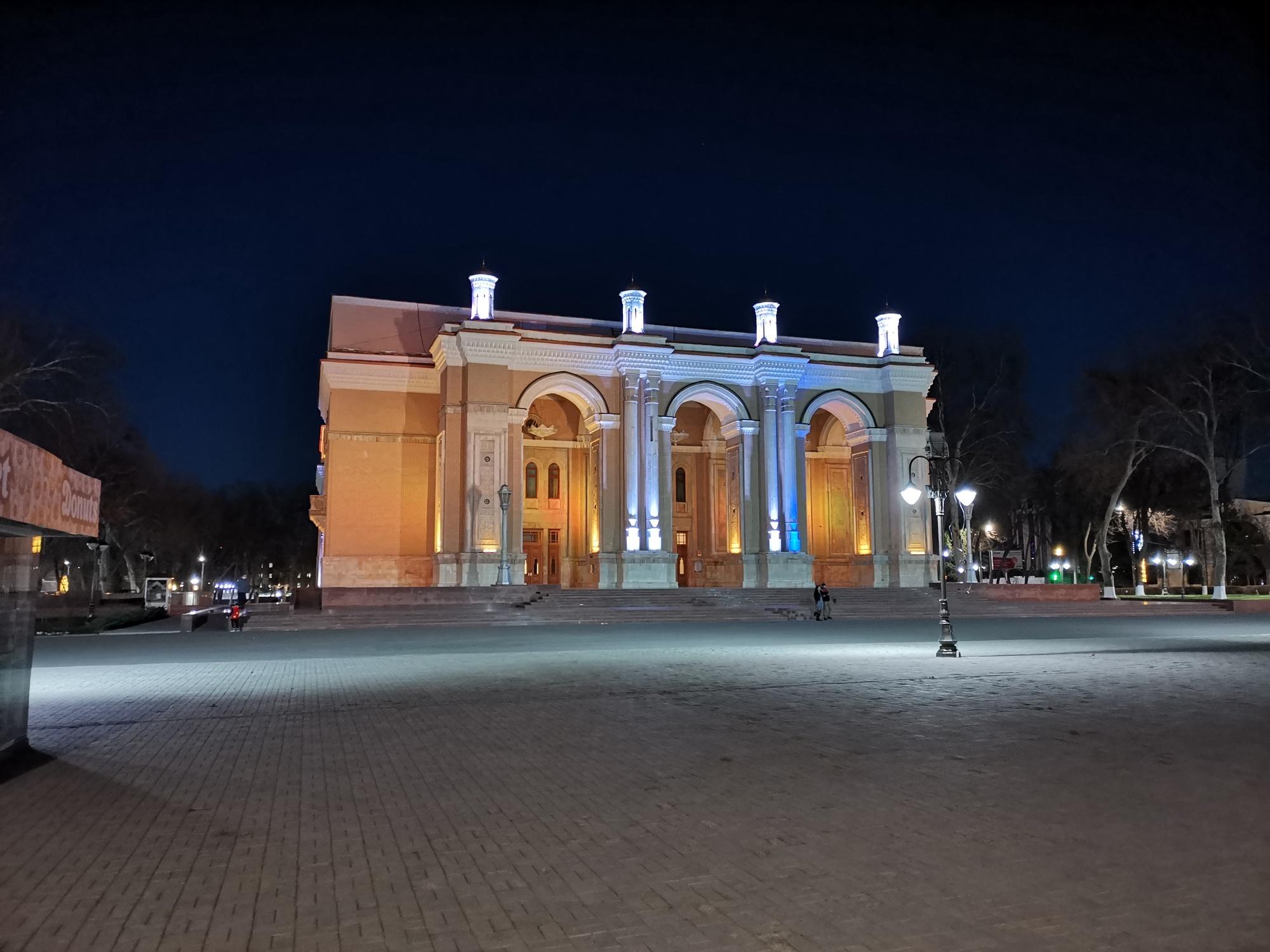 Государственный Академический Большой Театр им. Алишера Навои, Ташкент, Узбекистан