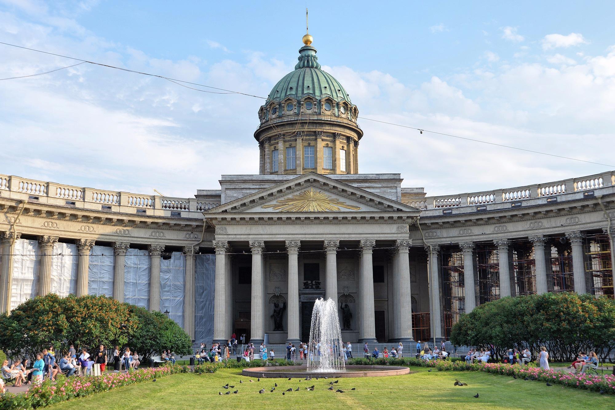 Казанский собор в Санкт-Петербурге, Санкт-Петербург, Россия