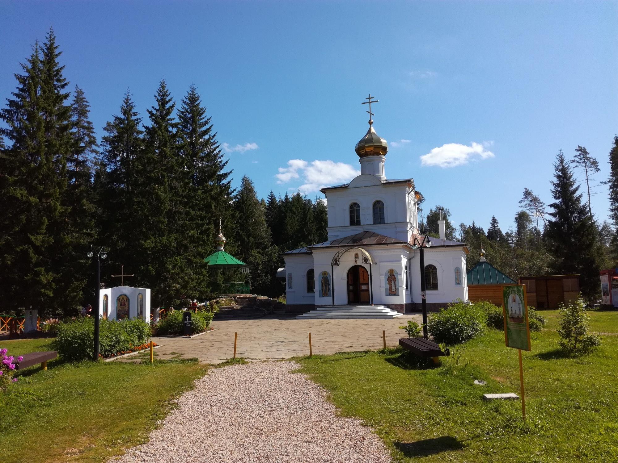 Спасо-Преображенский скит Нило-Столобенского монастыря, Оковцы, Россия