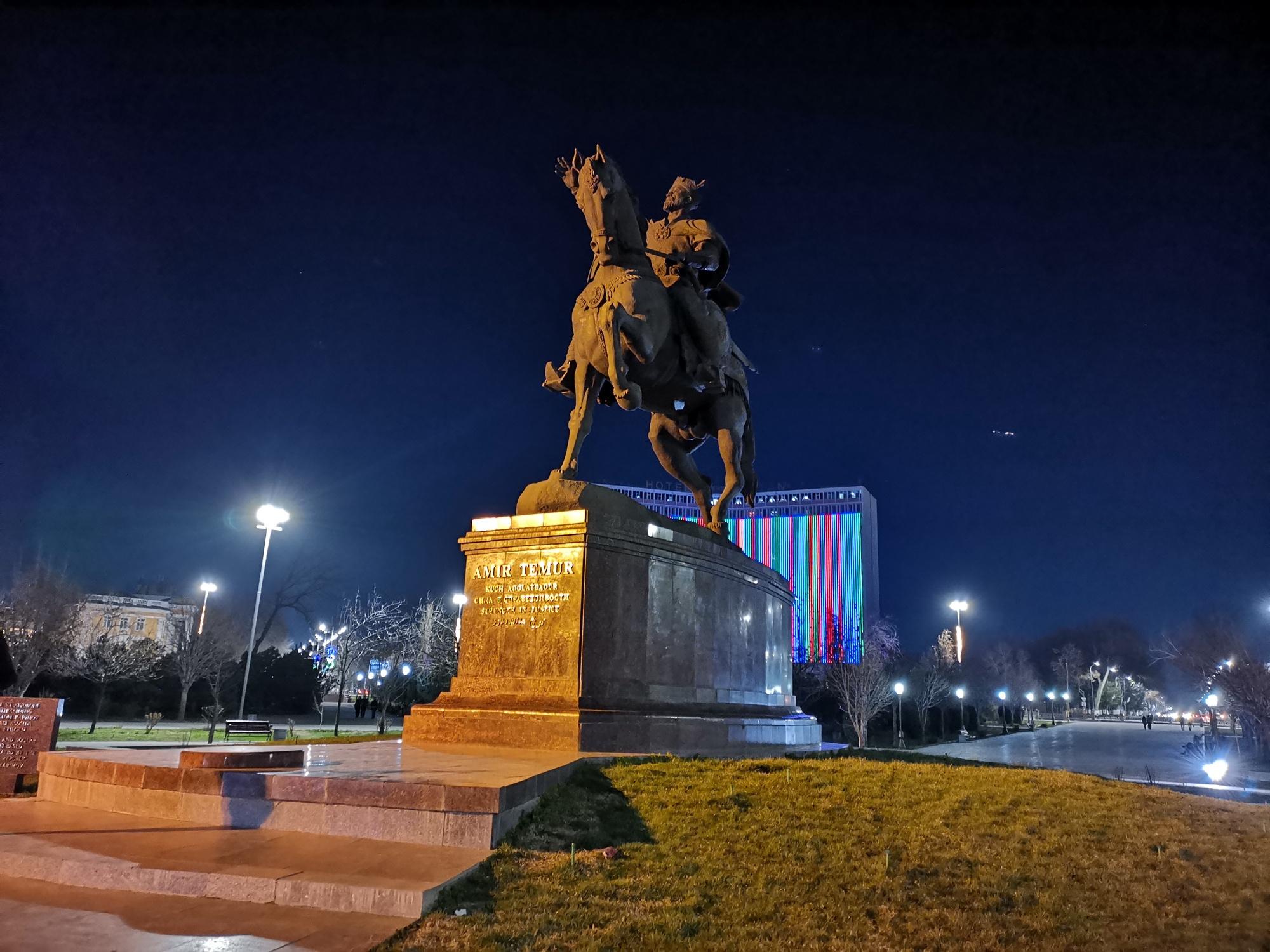 Памятник Эмиру Тимуру (Ташкент), Ташкент, Узбекистан